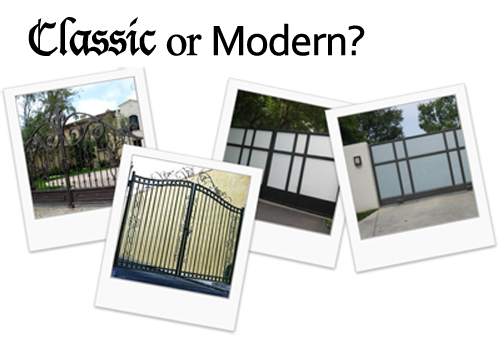 Classic Gates Modern Gates