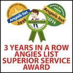 angieslist superior service award