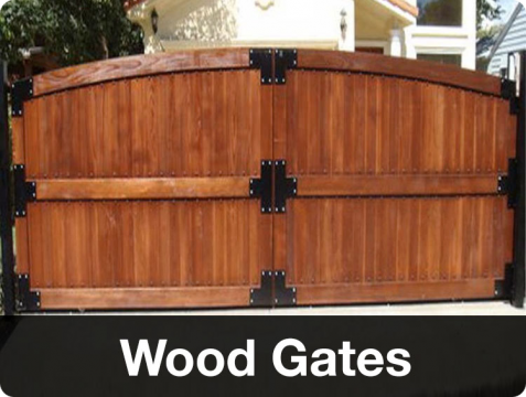 Wood Gates Los Angeles