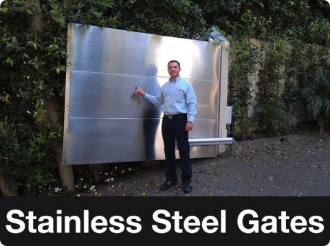 stainless steel gate los angeles