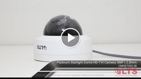 , 5MP Starlight in LTS Chicago Demo Room – CMHD7352-28 (Nighttime)