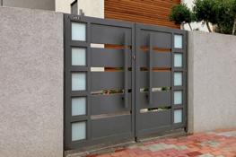 aluminum gates