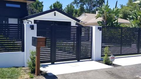 Ran Sherman Oaks Fence Panel and Intercom for Blog Post