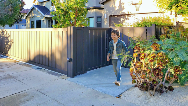 Mulholland Brand Gates Installation in Studio City