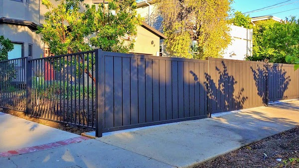 Mulholland Brand Gates Installation Studio City Los Angeles